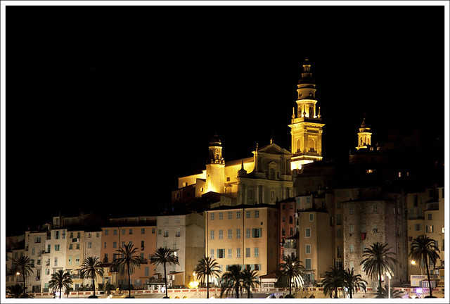 Old Menton, Night