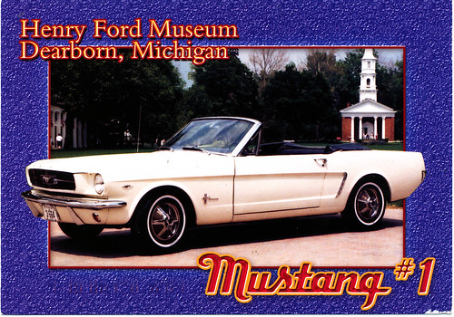 Henry Ford Museum - Ford Mustang
