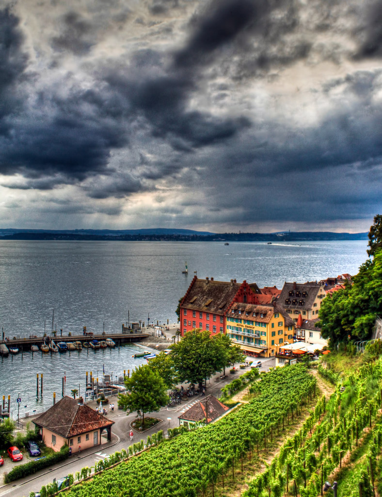 0240 - Germany, Meersburg, Lake Bodensee HDR
