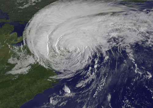 Hurricane Irene Reaches New York City