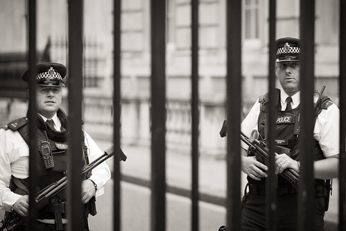 675/1000 - Downing Street Security by Mark Carline