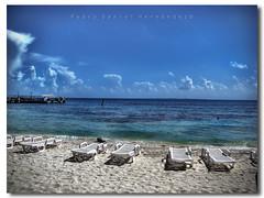 Playa Tortugas (N3CR0N0M1C0N) Tags: blue sea sky color beach colors azul landscape mexico photography mar photo cool nice sand flickr foto shot artistic sony playa paisaje colores arena cielo cancun fotografia dsc hdr artistico quintanaroo h9 photomatix pedrodaniel n3cr0n0m1c0n pedrodanielhernandezphotography pedrodanielhernándezphotography