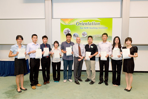 Fall 2011 TA Orientation
