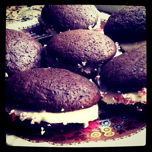 Making whoopie (pies) in NH