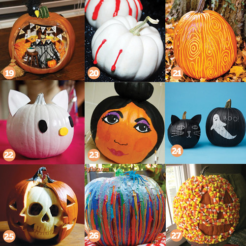 Valentine One: Pumpkin Decorating Ideas