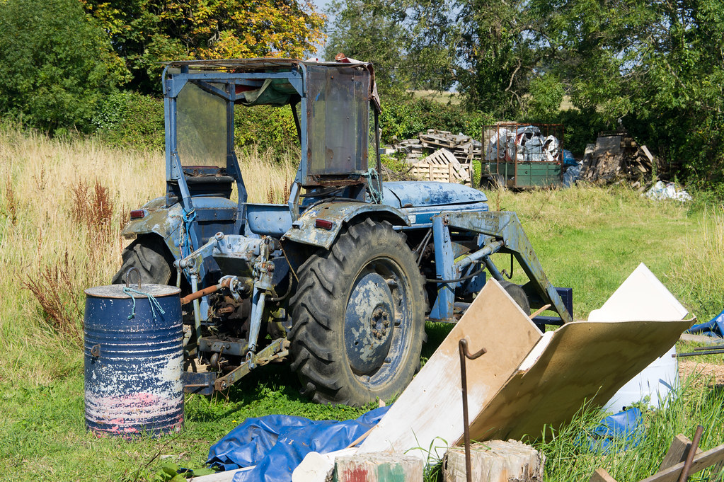 An Old Tractor - Lehaunstown Road