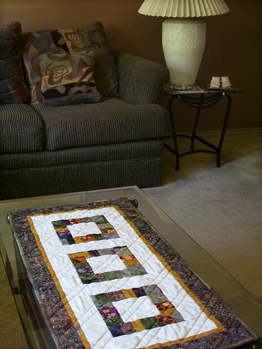 New tablerunner