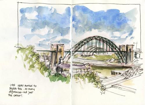 02_Fr15 04 NOT Sydney Harbour Bridge but the Tyne Bridge!