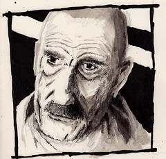 Breaking Badly (Jim_V) Tags: portrait sketch doodle breakingbad