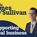 Cllr. James O'Sullivan supporting local business