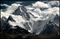 gasherbrum IV (7912m) (doug k of sky) Tags: pakistan trek doug 4 glacier karakoram iv karakorum baltoro gasherbrum mountainscapes visipix kofsky