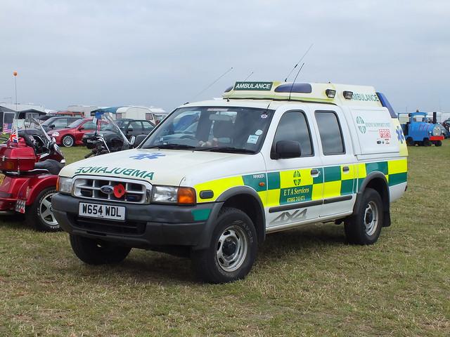 ford ranger 4x4 ambulance w654wdl