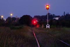 Railway lights (tomyjezura) Tags: light red geotagged track nightshot transport railway vanagram geo:lat=5018781178578952 geo:lon=14641761827355936 tomasfotografcz