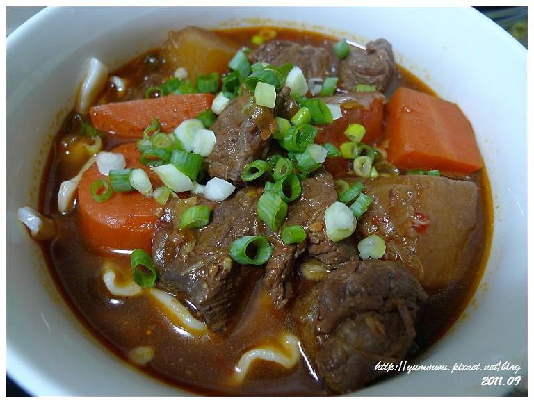 家常紅燒牛肉麵 (9)