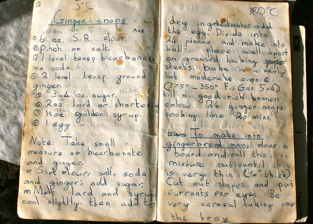 My old recipe book