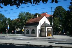 Warteraum - Kiosk Nymphenburger Straße - Südwestseite