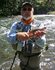 Chuck finds a chunky 'bow fishing the oxygen on the McCloud River