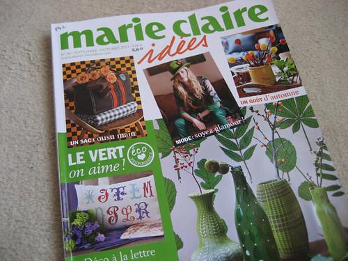 Marie Claire Idées Setembro . Outubro 2011