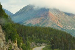 Klondike Highway - Mountain (blmiers2) Tags: travel mountain mountains nature alaska landscape nikon d3100 klondikehigway blm18