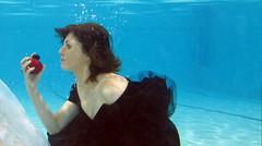 Yu Diving Underwater Fashion Shoot September 2011 (Yu Diving) Tags: school scuba diving scubadiving underwaterphotography ukdiving learntodive underwatermodelling yudiving knutsfordleisurecentre
