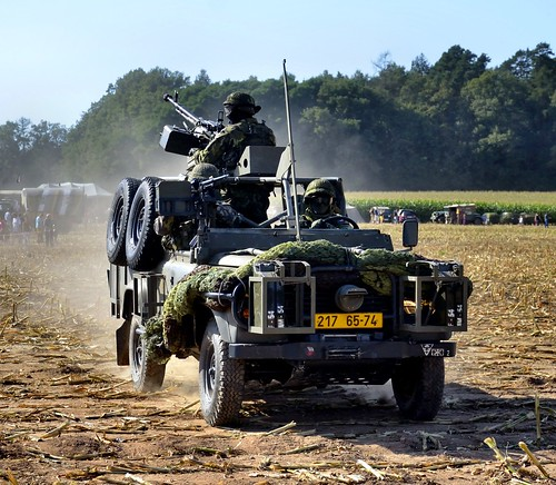 Land Rover 110 TD4 Kovboj Special Forces Vehicle