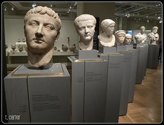 taking attendance (haven't the slightest) Tags: toronto ontario heads gta rom sculptures royalontariomuseum busts