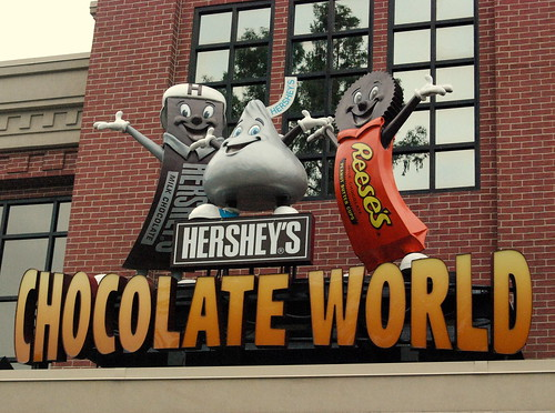 Hershey Park - Madeline's Favorite Stop