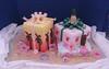 Luau gift boxes (Cake Diane Custom Cake Studio (eyedewcakes)) Tags: birthday beach cake island hawaii sand plumeria shell hibiscus luau pineapple bow tropical frangipani loopy tiki fondant loopybow
