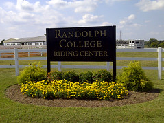 Randolph College Riding Center