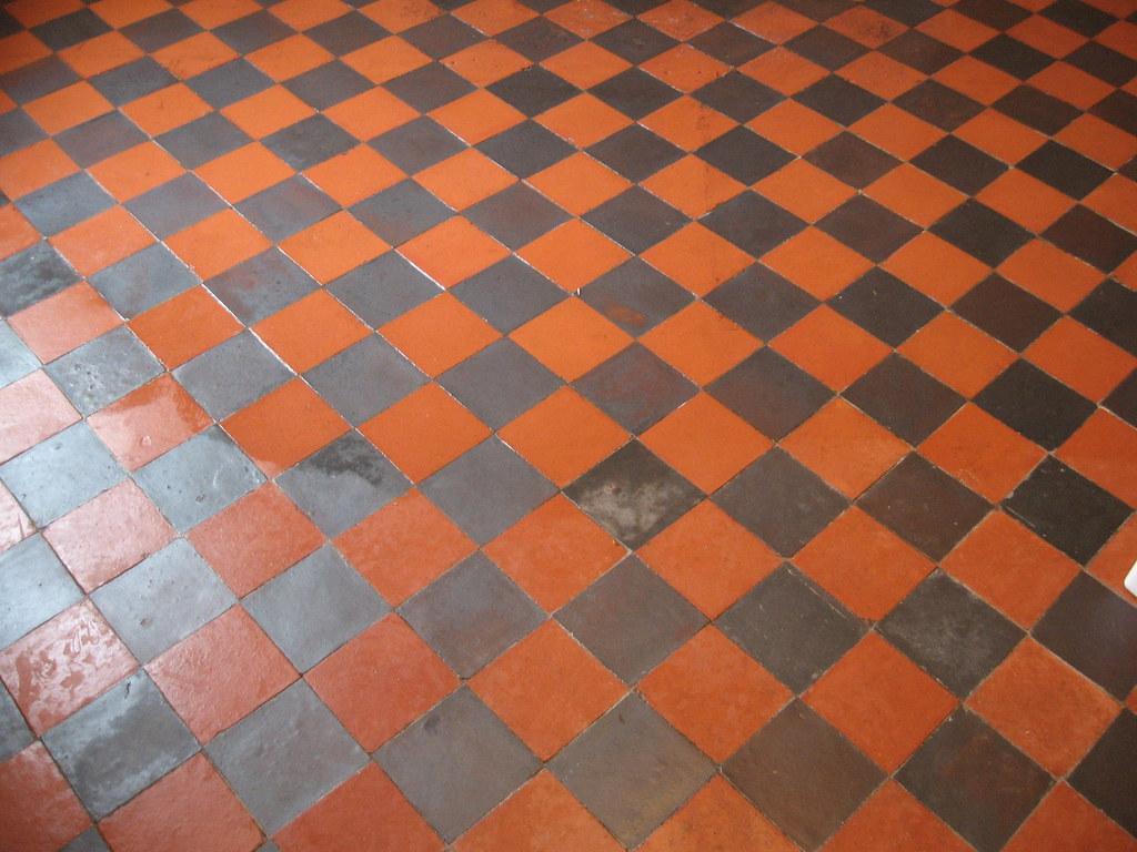 Restoring Quarry Tile Floor