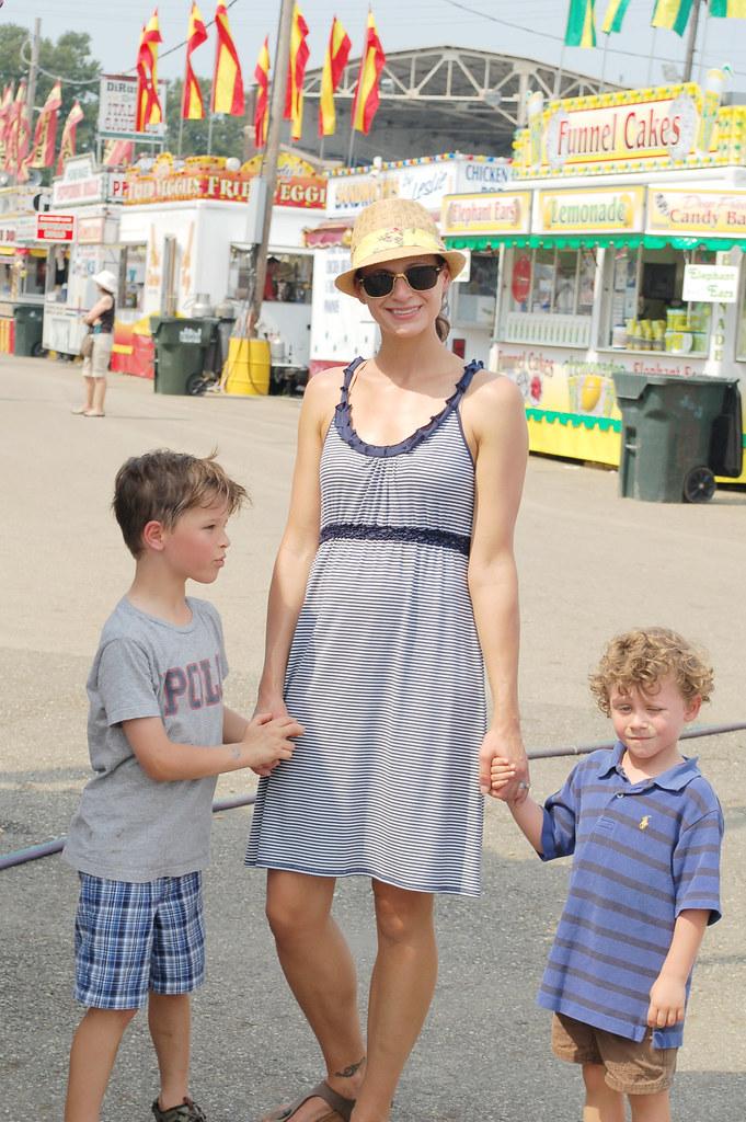 mama and boys