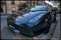 Lamborghini Gallardo. (Alatoire Photography) Tags: sydney fast hdr fastcar sportcar lamborghinigallardo kentstreet