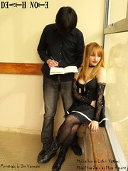 misa x light cosplay (Misa-Misa Saku) Tags: light death cosplay note saku yagami misamisa mykhaltso