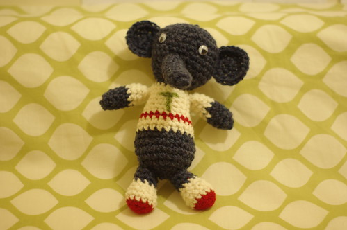 amigurumi #8 clone (more like a brother)