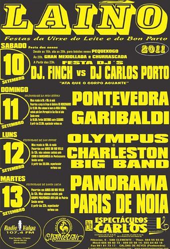 Dodro 2011 - Festa da Virxe do Leite en Laíño - cartel