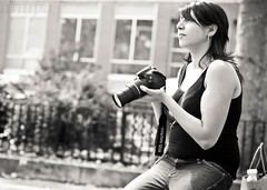 a kindred! (leicaobsessed) Tags: street photographer stranger girlwithacamera