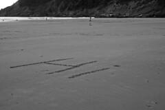 6108.1 Hi B&W (eyepiphany) Tags: oregon surf soccer surfing juxtaposition juxtapose soccerball decisivemoment blackwhitephotography foundtext oregonbeaches beachsoccer writinginthesand summerlife oregonsurfing oregontourism manzanitta smuglerscove tappingthesource bestplacestosurf bestplacestosurfinoregon dottingtheeye sandjournal oregonbeachtowns manzanittaoregon