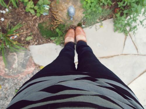 stripes & skinny jeans