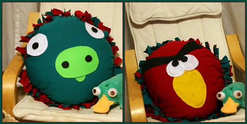 angry birds mosaic