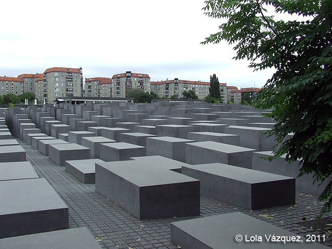 Berlín - Monumento al Holocausto