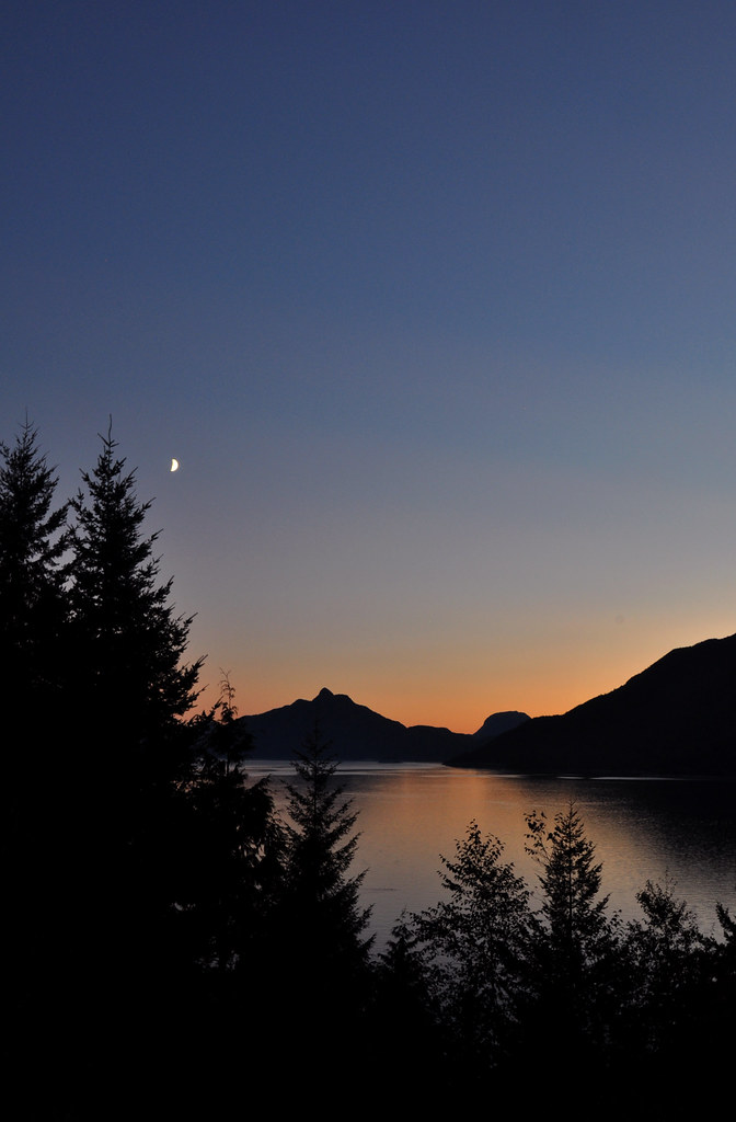 Howe Sound, twilight