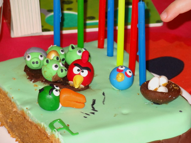 Angry Bird Cake (Day 2)