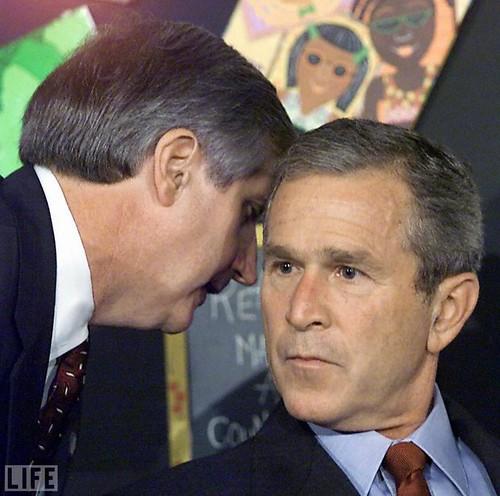 president bush september 11 photo
