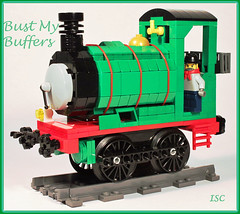 Bust My Buffers! (I Scream Clone) Tags: tank lego thomas engine percy