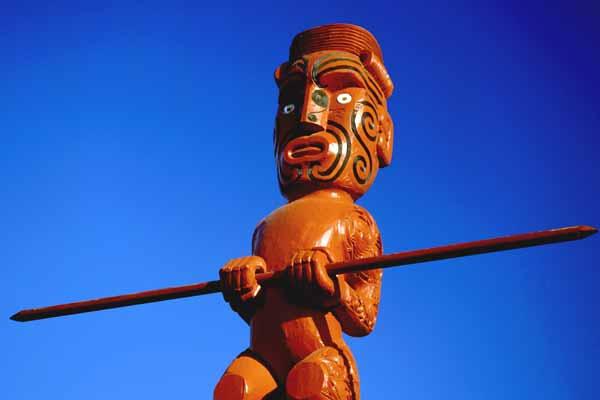 Maori Marae Carving