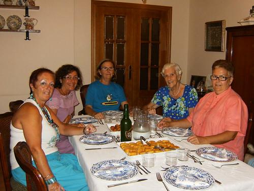 Cena casa Begoña