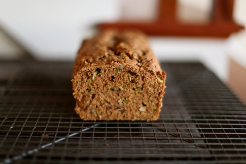 Whole Wheat-Olive Oil Zucchini Bread