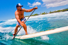 Sunday @ Pines #2 (konaboy) Tags: ocean water sport hawaii surf action surfer wide wave surfing bigisland sup kona standup paddleboard img0424 kohanaiki pilipo delmarhousings indawatah surfhousing