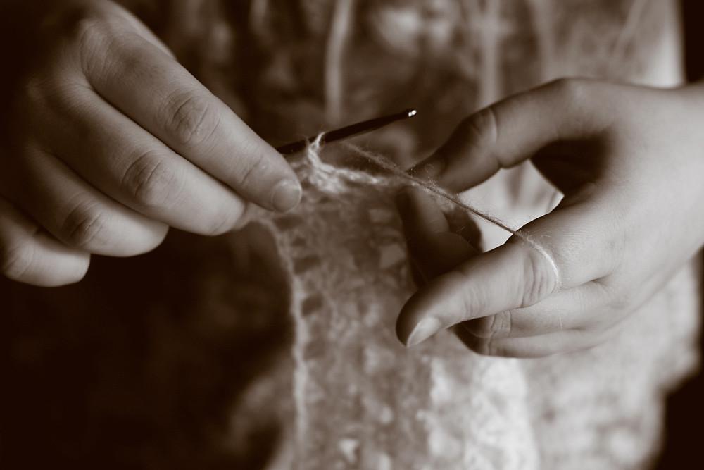Sepia 13/30:  Crochet