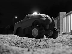 Tim Gray - Main Subject (bernardwins) Tags: school arizona blackandwhite phoenix car night sand dry peoria personalvision mainsubject paseoverde